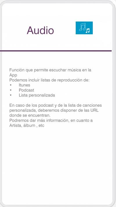 Función audio
