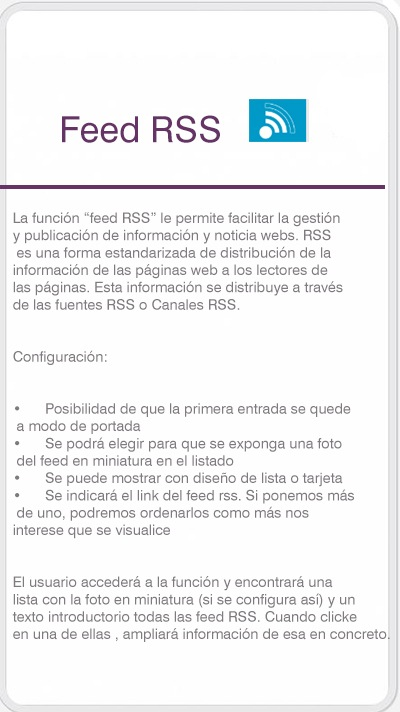 función RSS