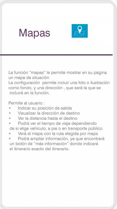 Función mapas